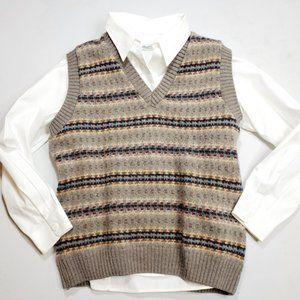LL Bean Vintage Wool Vest size Medium
